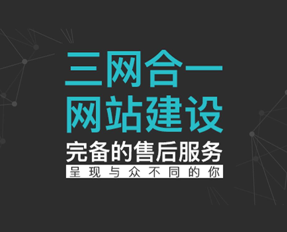 三网合一网站建设(定制版)
