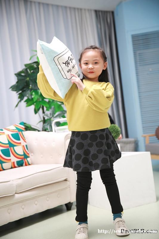 泰特厂家供应女童加绒裤裙2019冬季新款童装裙裤
