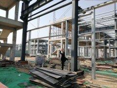 绿天使标准钢结构厂房出售 双证齐全 价格合理