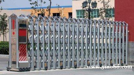 安装不锈钢伸缩门最新报价